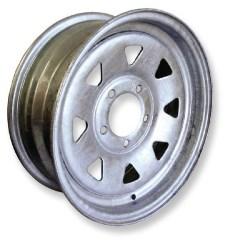 Galvanised Trailer Wheel Rims