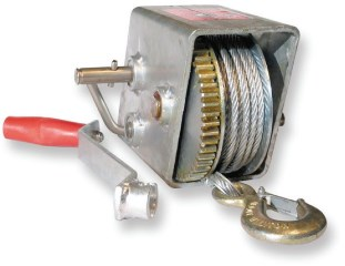 Manual Trailer Winches - Closed Top