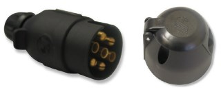 7 Pin Round Trailer Connectors