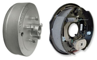 Electric braked Hub & Stub Sets